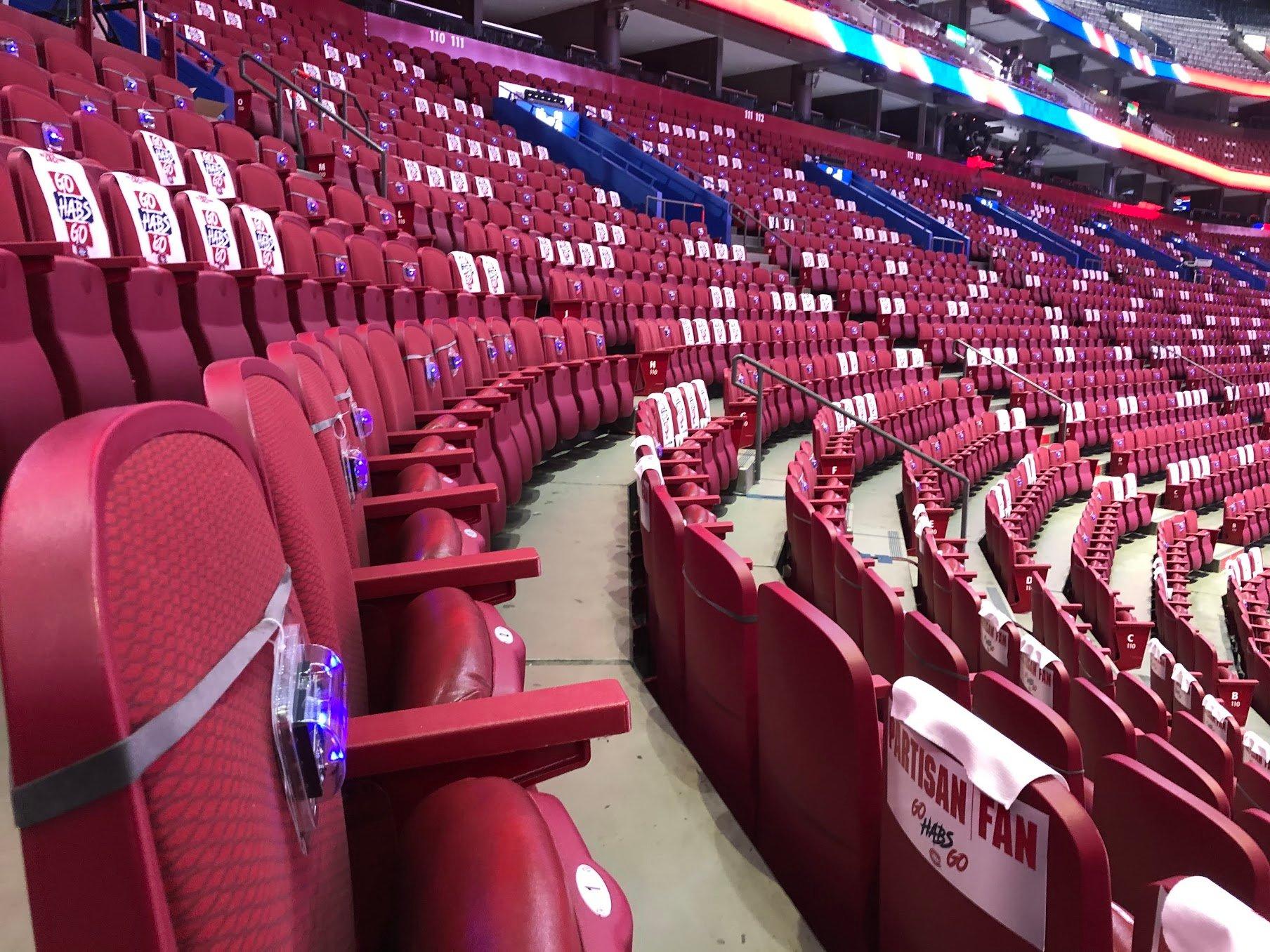 Novas on seats